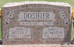Beulah Estelle <i>Loyd</i> Doshier