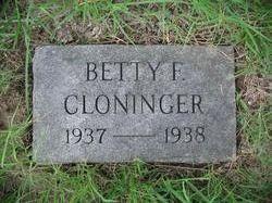 Betty Frances Cloninger