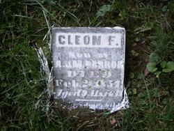 Cleon F Barron