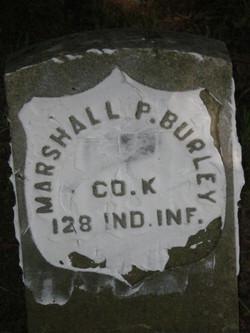 Pvt Marshall P Burley
