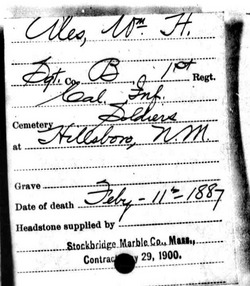 Sgt William H Ales