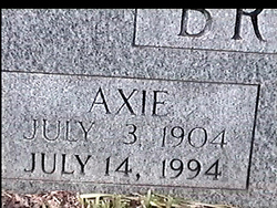Axie <i>Partin</i> Browning