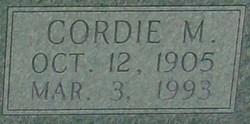 Cordelia Belle Cordie <i>Mancoe</i> Abbott