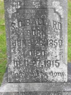 Samuel David Ballard