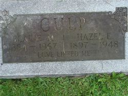 Hazel Evangeline <i>Nelson</i> Culp