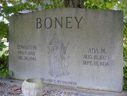 Ada Mae <i>Blume</i> Boney