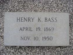 Henry K Bass