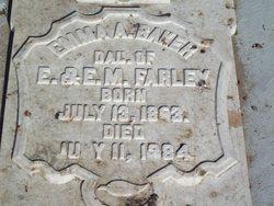 Emma A. <i>Farley</i> Baker