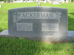 Edward F Ackerman