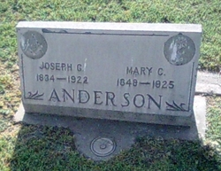Mary C Anderson