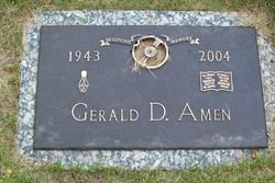 Gerald D Amen