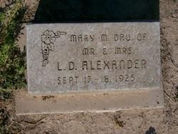 Mary Margarite Alexander