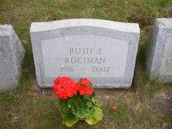 Ruth Jeanette <i>Stauffenberg</i> Roetman