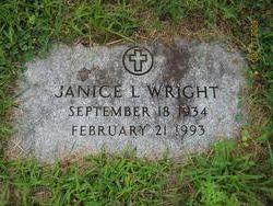 Janice L. <i>Weeks</i> Wright