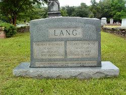Harriet DuBose <i>Kershaw</i> Lang