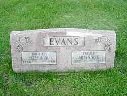 Della M <i>Ratcliff</i> Evans