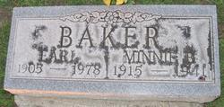 Minnie Elizabeth <i>Brubaker</i> Baker
