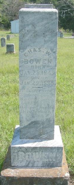 Charles W Bowen