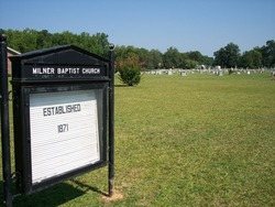 Milner Baptist Church Cemetery