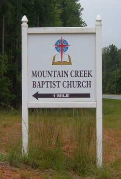 Mountain Creek Baptist Church Cemetery