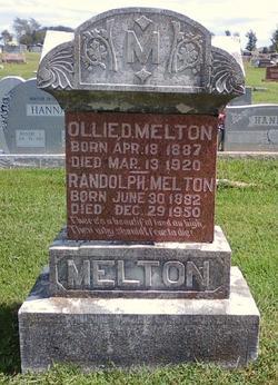 Ollie D <i>Bilyeu</i> Melton