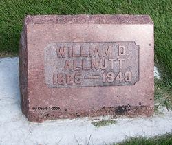 William David Allnutt
