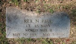 Lt Col Rex N Paul