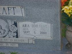 Ara Loraine <i>Fikes</i> Ashcraft