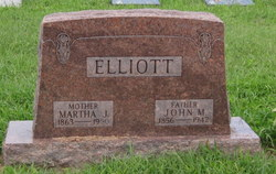 Martha J <i>Mitchel</i> Elliott