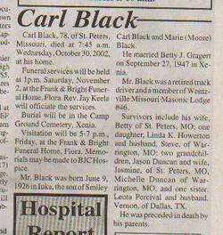 Carl Black