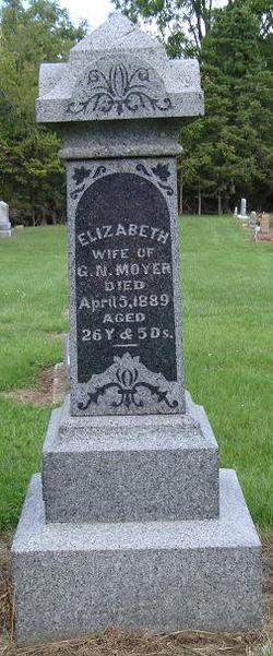 Elizabeth Betty <i>Thomas</i> Moyer