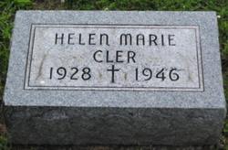 Helen Marie Cler
