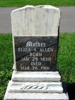 Eliza Ann <i>Bickmore</i> Allen