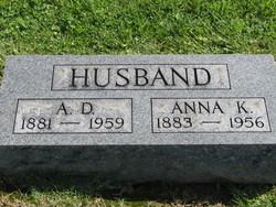 Anna Katherine <i>Ashby</i> Husband