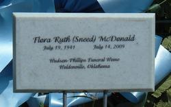 Flora Ruth <i>Sneed</i> McDonald