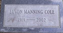 Annie Euvon <i>Manning</i> Cole