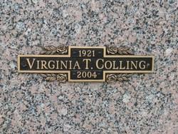 Virginia Lee <i>Tranter</i> Colling