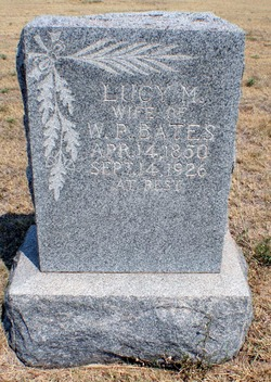 Lucy M. <i>Witt</i> Bates