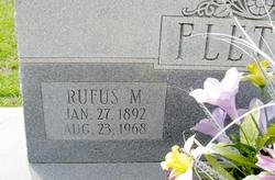 Rufus Marcus Micajah Fletcher