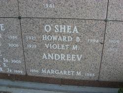 Margaret Mary <i>O'Shea</i> Andreev