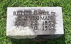 Bettie E. <i>Brooks</i> Vroman