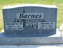 Marjorie R Barnes
