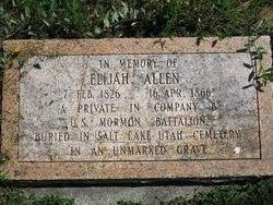 Elijah Allen