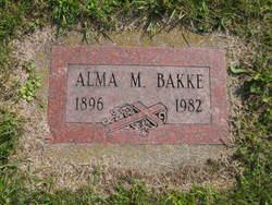 Alma M. Bakke