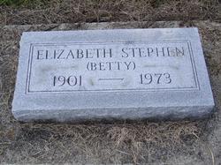 Elizabeth Betty Stephen