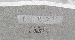 Rev Burchard Brickman Berry, Sr