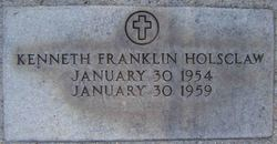 Kenneth Franklin Holsclaw