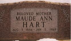 Maude Ann <i>Bishop</i> Hart