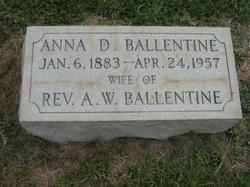 Anna D. <i>Derrick</i> Ballentine