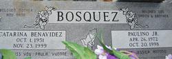 Paulino Benavidez Bosquez, Jr